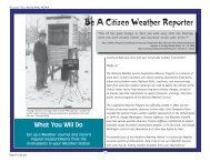 Be A Citizen Weather Reporter - NOAA Celebrates 200 Years of ...