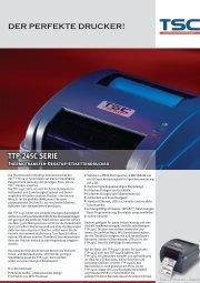 TTP-245C SERIE Thermotransfer-Desktop-Etikettendrucker - TSC