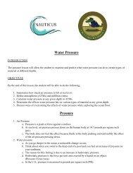Hunt for the Alligator - Water Pressure - Nauticus