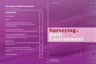 Surveying & Built Environment Vol. 17 Issue 1 (June 2006)