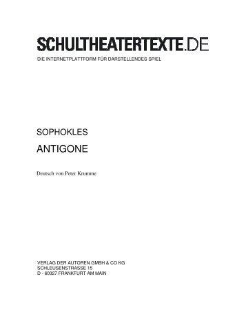ANTIGONE - schultheatertexte.de