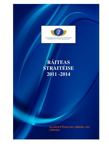 ráiteas straitéise 2011 -2014 - The Department of Justice and Equality