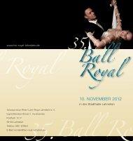 35.Ball Royal 5.Ball Royal - TSC Rhein-Lahn-Royal Lahnstein e.V.