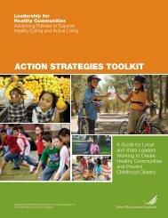 ACtion StrAtegieS tooLkit - folio