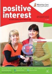 Download Positive Interest July 2012 - Waverley Care