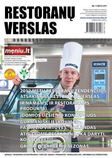 LEIdINIo paRTNERIaI - Restoranų verslas