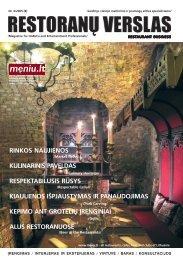 rinkos naujienos kulinarinis paveldas ... - Restoranų verslas