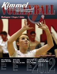 2012 Volleyball Catalog.indd - Kimmel Athletic Supply Co