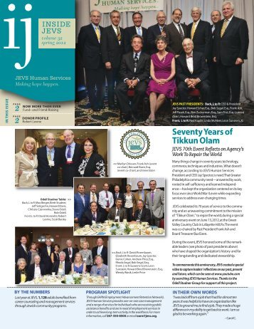 Spring 2012 issue - JEVS Human Services