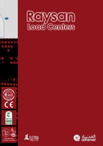 Raysan Load Centers Catalogue - AEC Online
