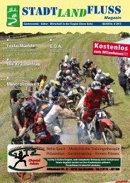 Ausgabe 2/2013 - Stadt, Land, Fluss – Das Magazin