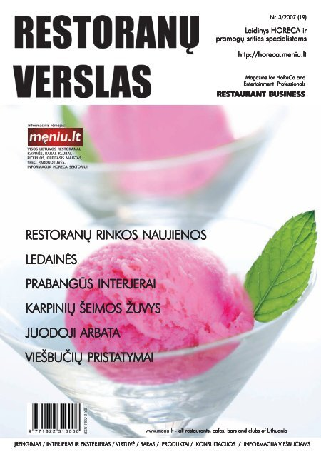 prosecco - Restoranų verslas