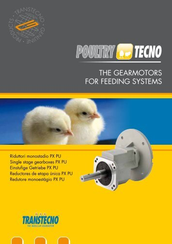 THE GEARMOTORS FOR FEEDING SYSTEMS - Transtecno