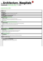 Program 13-14-15 April, 2005 - reMARKS