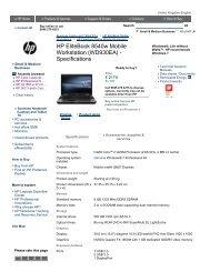 HP Z800 Workstation (KK659ET) - Specifications - Added Dimension