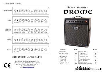 EBS DROME CLASSIC LINE