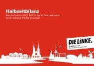 Halbzeitbilanz - Fraktion DIE LINKE in Bremen