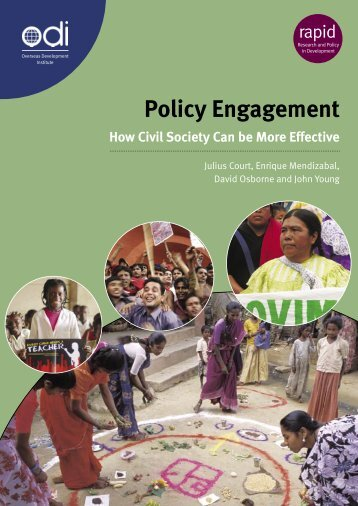 Policy Engagement - Handicap International