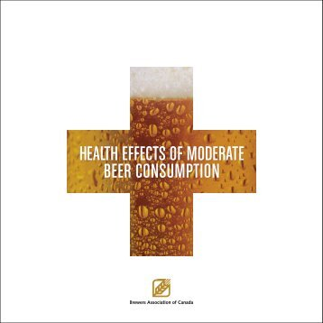 health effects of moderate beer consumption - The Centre for ...
