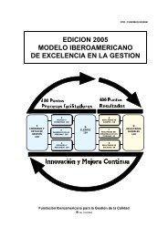 edicion 2005 modelo iberoamericano de excelencia en la gestion