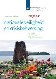 Magazine nationale veiligheid en crisisbeheersing, augustus 2011