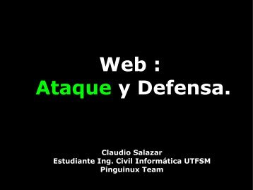 Web: Ataque y Defensa (2007) - csrg