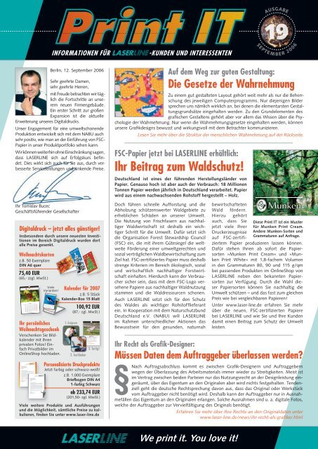 Ihr Beitrag zum Waldschutz!