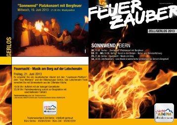 Gerlos Feuerzauber - Zillertal Arena