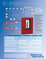 ADT FSC Quick Reference Card - Edwards Signaling