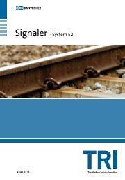 Signaler - System E2 - Trafikverket