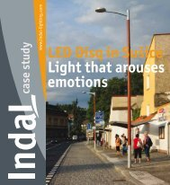 LED Disq in Sušice Light that arouses emotions. - Indal