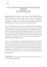 Terapie e Attività Assistite in Italia: attualità, prospettive e proposta di ...