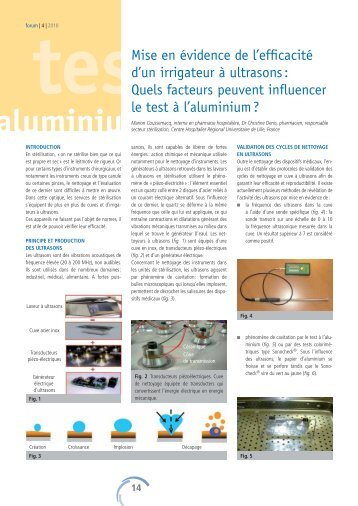aluminiu - Société Suisse de Stérilisation Hospitalière