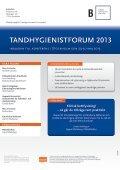 TANDHYGIENISTFORUM 2013 UM 2013 - Conductive - Page 6