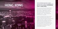 vrc racing tour – hong kong. - Melbourne Cup