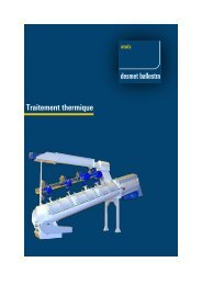 Traitement thermique