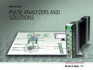 pulse analyzers and solutions - Brüel & Kjær