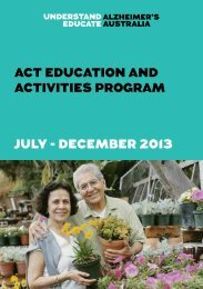 ACT Education and Activities Program Jul-Dec 2013(PDF, 843 kB)