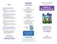 FAQs Rights & Responsibilities - Foster Parents Support Services ...