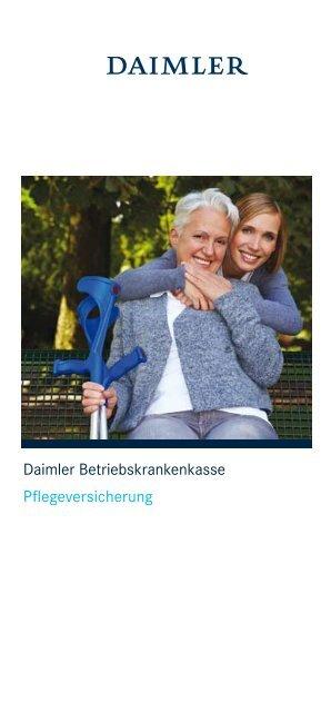 Daimler Betriebskrankenkasse Pflegeversicherung Daimler ...