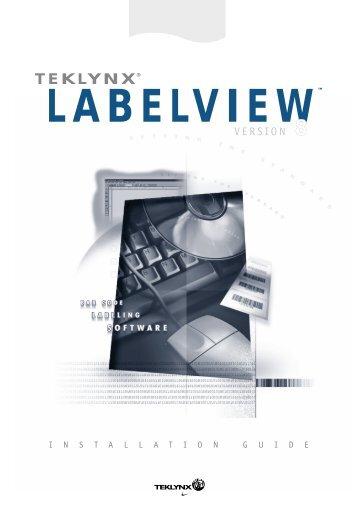 teklynx® labelview - Barcode Printers | Label Applicators