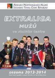 exraliga 2013-2014.qxd - Extraliga stolního tenisu