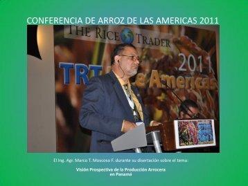 CONFERENCIA DE ARROZ DE LAS AMERICAS 2011 - cinap