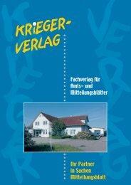 Krieger- VERLAG