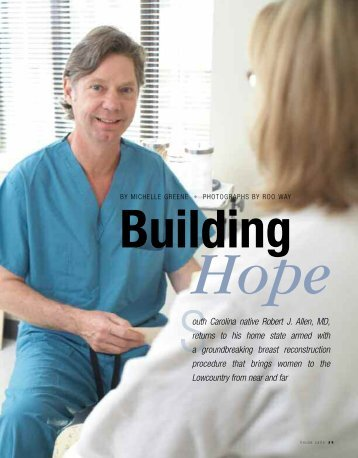 Building Hope - Roper St. Francis Healthcare