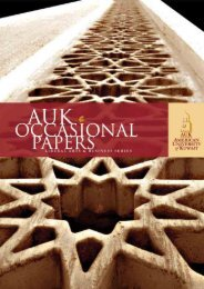 2009 Occasional Papers - AUK