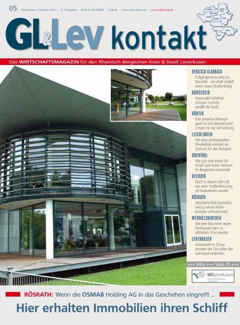 Hier erhalten Immobilien ihren Schliff - GL VERLAGS GmbH