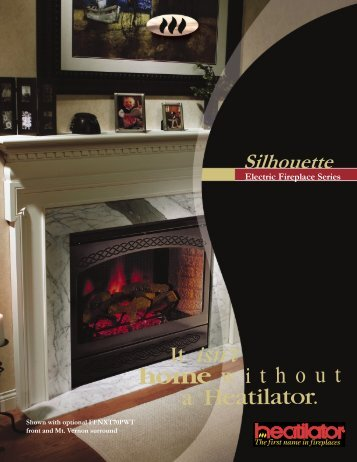 Silhouette Electric Fireplace Series - Inglenook Energy Center