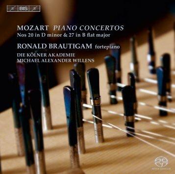 MOZART PIANO CONCERTOS RONALD ... - BIS Records