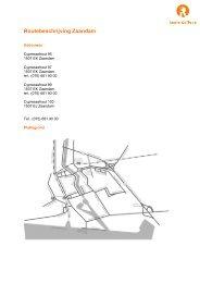 Routebeschrijving Zaandam - Regio College